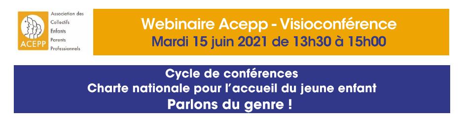 Conférence ACEPP : Parlons du genre !