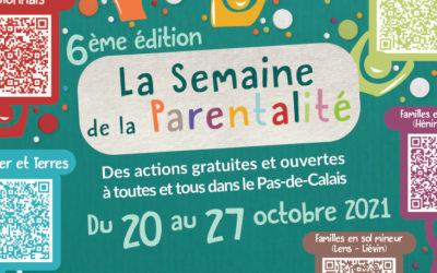 Semaine de la parentalité du 20 au 27 octobre 2021 – Réseau parentalité 62