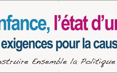 Des nouvelles du CEP Enfance : le collectif défend 10 exigences d'urgence pour la cause des enfants